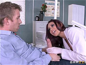 jiggly dentist Monique Alexander gargles patients meaty bone