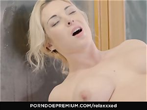RELAXXXED sensual pool orgy with Victoria Summers