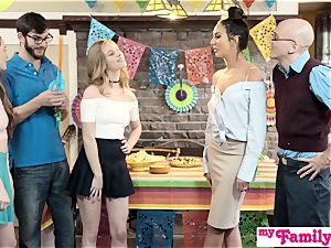 StepSis And BFF Sneak screw At Cinco De mayo soiree S2:E5