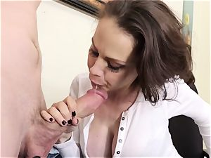enormous breast milf chief McKenzie Lee ejaculates hard