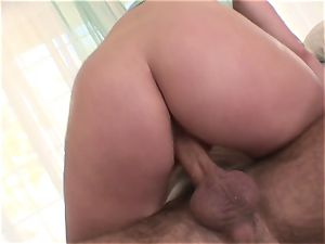Harmony Rose is left with a white-hot puss honeypot