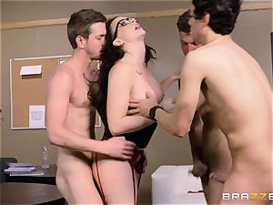 Chanel Preston torn up in every fuck-hole