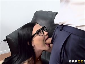 salami choking british babe Jasmine Jae ravaged in her bootie