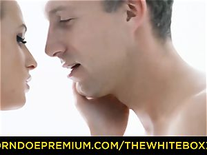 THE white BOXXX - light-haired Czech angel nails large man-meat