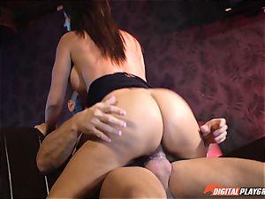 Franceska Jaimes gets ass-fuck jammed by Nacho Vidal and his humungous man rod