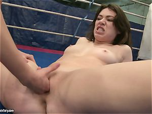 Mandy Dee lusty babe with scorching girl have a stiff fight