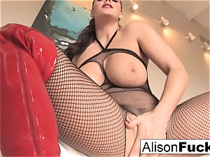 Alison Tyler makes you masturbate your meat for her