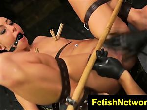 FetishNetwork Sabrina Banks ball gagged