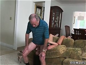senior man pummel nubile hd and studs piss on Frannkie s a prompt learner!