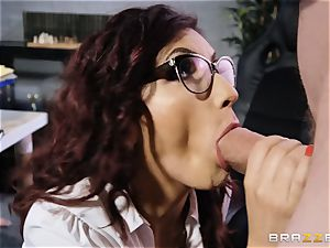 Amina Danger getting plowed by a gigantic dick