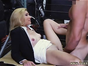 ash-blonde cougar double invasion super-fucking-hot milf penetrated At The PawnSHop