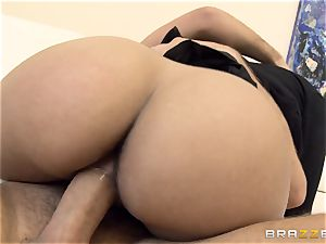 naughty doll Lola James nails for her grades