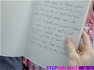 Stepsis blackmailed to ravage brother to keep her messy secrets